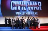 『シビル・ウォー/キャプテン・アメリカ』USプレミアの模様 (C)2016 Marvel.