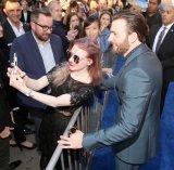『シビル・ウォー/キャプテン・アメリカ』USプレミアに出席したクリス・エヴァンス (C)2016 Marvel.
