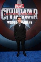 『シビル・ウォー/キャプテン・アメリカ』USプレミアに出席したセバスチャン・スタン (C)2016 Marvel.