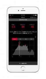 """""""集中力""""を高めるトレーニングができるアプリ「JINZ MEME ZEN(ゼン)」画面イメージ(C)JINS"""