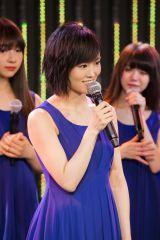 「NMB48一本で頑張っていきたい」と宣言した山本彩 (C)NMB48