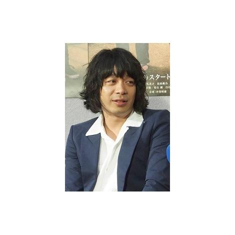 NHK・BSプレミアムのドラマ『奇跡の人』の試写会に出席した峯田和伸 (C)ORICON NewS inc.