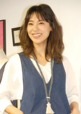 『Afternoon Tea LIVING』35周年記念イベントに出席した小泉里子 (C)ORICON NewS inc.
