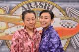 23日放送の日本テレビ系『嵐にしやがれ』(毎週土曜 後10:00)に出演する(左から)浅田真央&舞姉妹 (C)日本テレビ