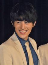 メジャーデビュー2周年を迎えた8人組男性音楽グループ・SOLIDEMOのメンバー・向山毅 (C)ORICON NewS inc.