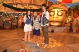 5月に2週連続で放送されるTBS『アイ・アム・冒険少年』に出演する(左から)川島海荷、岡村隆史、田中直樹 (C)ORICON NewS inc.