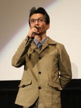 『蜜のあわれ』の大ヒット御礼舞台あいさつに登壇した石井岳龍監督