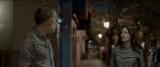 バルバラ(右)とアリシアの父ルイスが出会ってしまった場面。映画『マジカル・ガール』Una produccion de Aqui y Alli Films, Espana. Todos los derechos reservados(C)