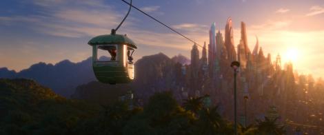 ディズニー長編アニメーションの新作『ズートピア』より(C)2016 Disney. All Rights Reserved.