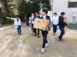 ゴリけん、パラシュート部隊、波田陽区らが熊本地震の被災地支援活動を行った