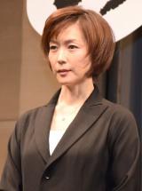 WOWOW『連続ドラマW 沈まぬ太陽』完成披露試写会に出席した若村麻由美 (C)ORICON NewS inc.