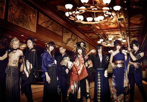 テレビ東京系リオ五輪中継テーマソングを担当する和楽器バンド