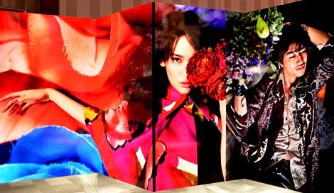サムネイル (蜷川実花の写真展『FASHION EXCLUSIVE』にて) (C)oricon ME inc.