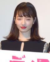 小松菜奈=映画『ディストラクション・ベイビーズ』完成披露舞台あいさつ (C)ORICON NewS inc.