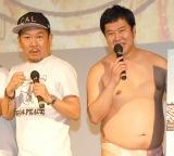 不倫疑惑が報じられたとにかく明るい安村(右)をイジったFUJIWARA・藤本敏史 (C)ORICON NewS inc.