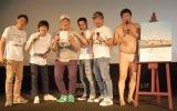 (左から)しずる、マッスル坂井、FUJIWARA、とにかく明るい安村 (C)ORICON NewS inc.