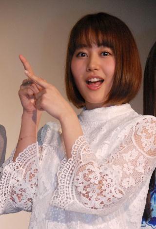 映画『愛MY〜タカラモノと話せるようになった女の子の話』の舞台あいさつに出席した門脇佳奈子 (C)ORICON NewS inc.