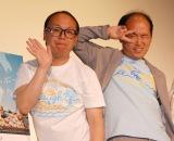 映画『愛MY〜タカラモノと話せるようになった女の子の話』の舞台あいさつに出席したトレンディエンジェル (C)ORICON NewS inc.