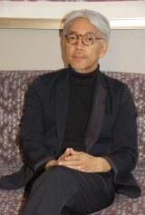 『レヴェナント:蘇えりし者』の音楽を担当した坂本龍一 (C)ORICON NewS inc.