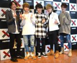 ダンスボーカルユニット・ZERO(左から)KENTO、RYO、Ryu(森本龍太郎)、T-Y、Ta2ya (C)ORICON NewS inc.