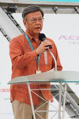 沖縄県・翁長雄志知事