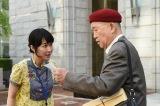 TBS系ドラマ『重版出来』第4話(5月3日)にゲスト出演する「めいどのみやげ」の年金ちゃん(C)TBS