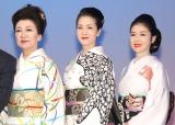 (左から)大月みやこ、坂本冬美、藤あや子 (C)ORICON NewS inc.