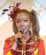 """歌手デビューで""""オリコン1位""""を宣言したざわちん (C)ORICON NewS inc."""