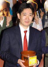 映画『殿、利息でござる!』公開直前トークイベントに出席した原作者の磯田道史氏 (C)ORICON NewS inc.