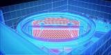 「360°シアター StageAround TOKYO」客席全体イメージCG