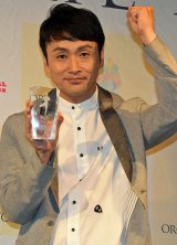 『ヨガジャーナル presents Yoga People Award 2016』授賞式に出席したアンジャッシュ・児嶋一哉 (C)ORICON NewS inc.