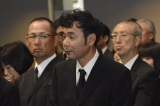 川島なお美さんの葬儀に参列したダチョウ倶楽部の肥後克広