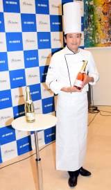 『ノンアルコールワイン テイスティングパーティー』に出席した鎧塚俊彦氏 (C)ORICON NewS inc.