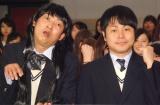 映画『劇場霊』女子学生限定試写会イベントに出席したNON STYLE(左から)石田明、井上裕介 (C)ORICON NewS inc.