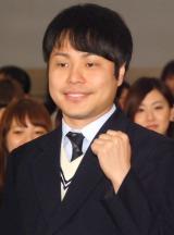 映画『劇場霊』女子学生限定試写会イベントに出席したNON STYLEの井上裕介 (C)ORICON NewS inc.