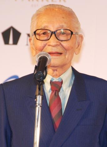 『第12回万年筆ベストコーディネイト賞2015』表彰式に出席した畑正憲 (C)ORICON NewS inc.