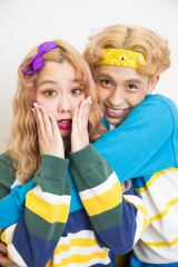 バラエティ番組でも活躍するペコとりゅうちぇるカップル(写真:ウチダアキヤ)