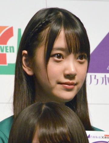 『セブン-イレブン×乃木坂46』記者発表会に出席した堀未央奈 (C)ORICON NewS inc.