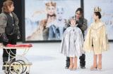 戴冠式=映画『スノーホワイト/氷の王国』公開記念イベントの模様