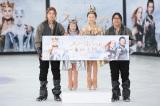 映画『スノーホワイト/氷の王国』公開記念イベントの模様