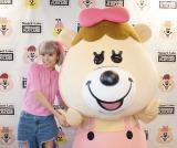 「Smart Labo THINGIES PLAYLAND」の記念イベントに登場した若槻千夏 (C)oricon ME inc.