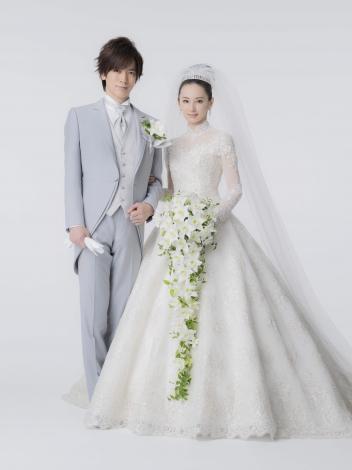 サムネイル 挙式したDAIGO&北川景子夫妻