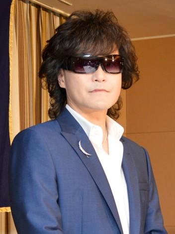 著書『洗脳 地獄の12年からの生還』出版記念記者会見に出席したX JAPAN・Toshl (C)ORICON NewS inc.