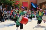 沖縄の伝統芸能エイサーのパフォーマンスも(連日13時半、15時半)