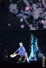 中村獅童×初音ミクが歌舞伎で共演! 『ニコニコ超会議2016』で上演された新作歌舞伎「今昔饗宴千本桜」