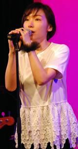 活動15周年ライブのリハーサルを行った加護亜依 (C)ORICON NewS inc.