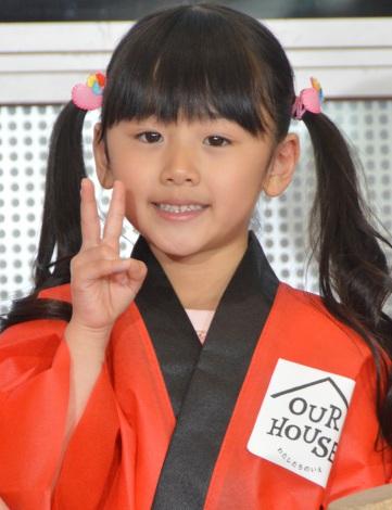 フジテレビ系ドラマ『OUR HOUSE』のこどもの日イベントに登場した松田芹香 (C)ORICON NewS inc.