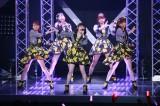 11月7日に日本武道館でコンサートを開催することを発表したJuice=Juice(左から)高木紗友希、植村あかり、宮本佳林、金澤朋子、宮崎由加
