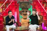 出産から約5ヶ月、番組にレギュラー復帰したなるみ。岡村隆史と2人そろっての出演は2015年12月27日放送以来(C)ABC