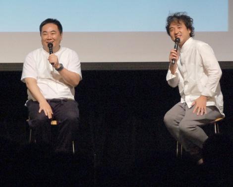 『LIFE!〜人生に捧げるコント〜』DVD発売記念イベントに出席した(左から)塚地武雅、ムロツヨシ (C)ORICON NewS inc.